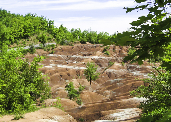 Cheltenham Badlands 45 mins outside of Toronto